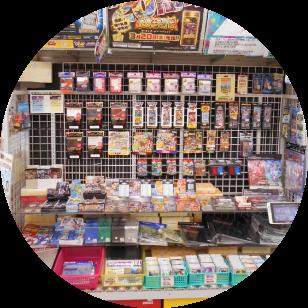 店内写真:カードゲームコーナー