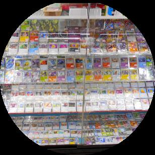 店内写真:ポケモン シングルカード